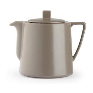 Šedohnědá konvice se sítkem na sypaný čaj Bredemeijer Lund, 1,5 l