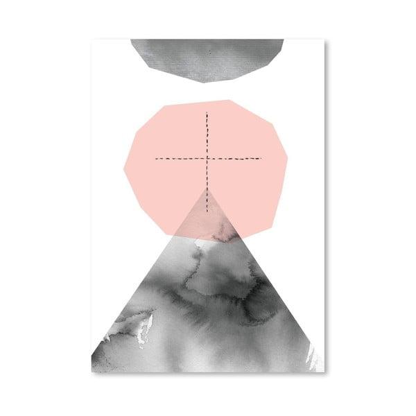 Plakát Pale Mountain Journey, 30x42 cm