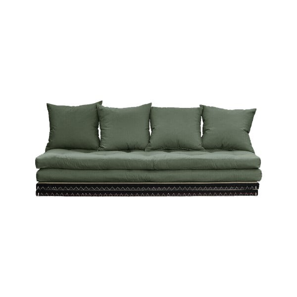 Canapea extensibilă Karup Design Chico Olive Green, verde
