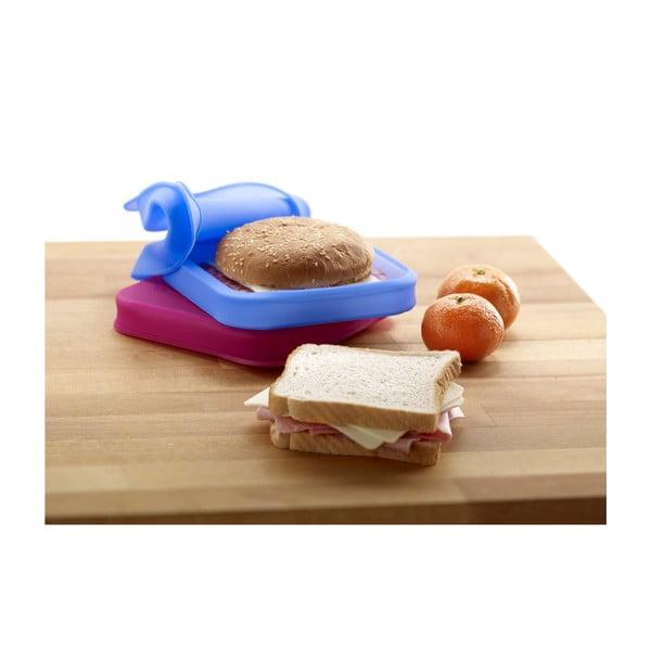 Silikonový obal na sandwich, modrý