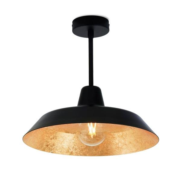 Černo-zlaté stropní svítidlo Bulb Attack Cinco