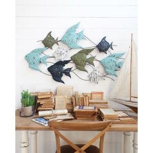Nástěnná dekorace Fish Pannel Ocean Blue