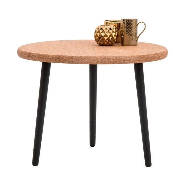 Odkládací stolek Petur Black