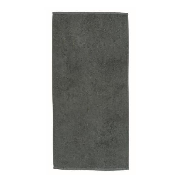 Šedý ručník Kela Ladessa, 50x100 cm