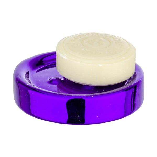 Tácek na mýdlo Purple Metallic