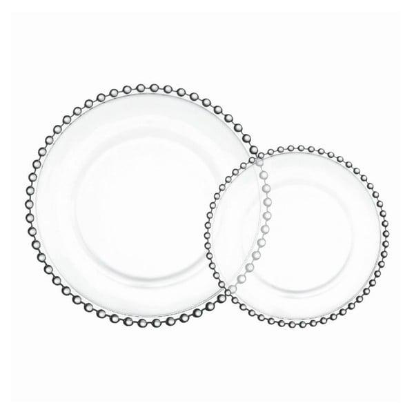 Sada 4 talířů Pearls, 26.5 cm
