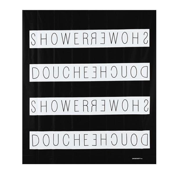 Sprchový závěs Shower Noir, 200x180 cm