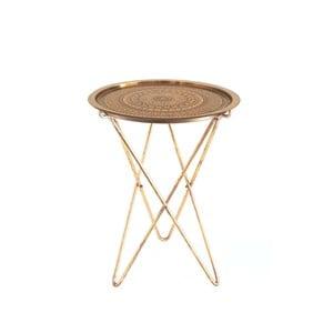 Ručně vyráběný odkládací stolek Vivorum Capitol