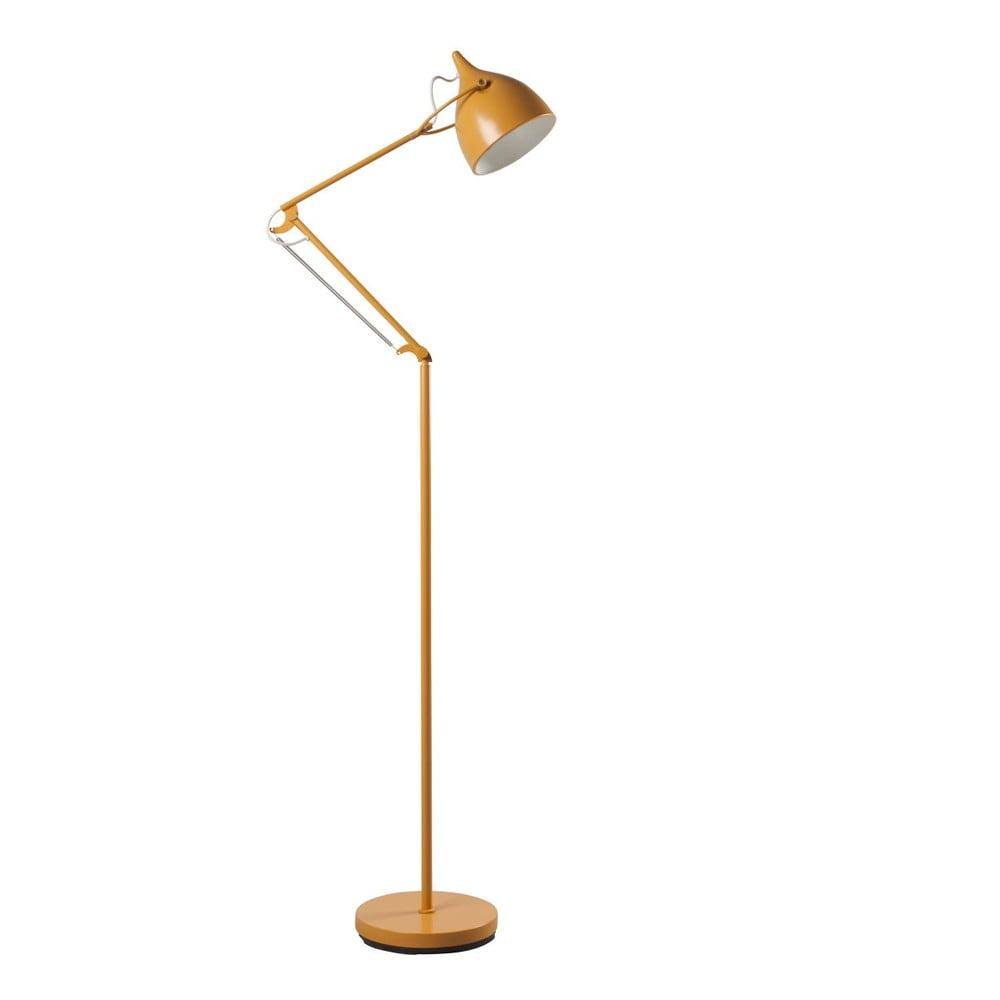 Žlutá stojací lampa Zuiver Reader