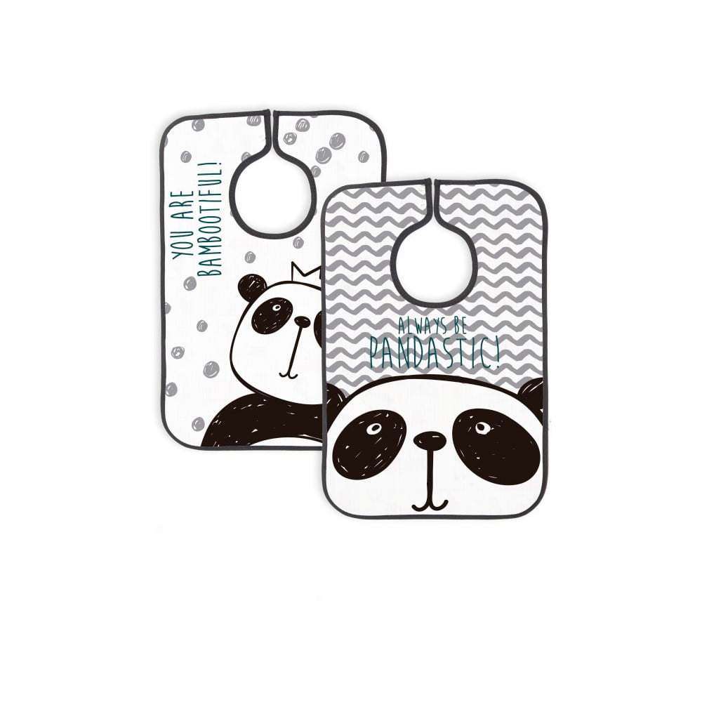 Sada 2 bryndáčků Little Nice Things Panda