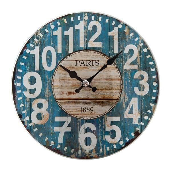 Nástěnné hodiny Clayre & Eef Paris Café