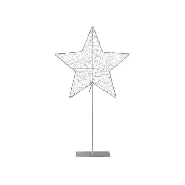 Stojacia LED svietiaca dekorácia Markslöjd Ronny Silver