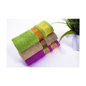 Sada 3ks ručníků Truva V3, 30x50 cm