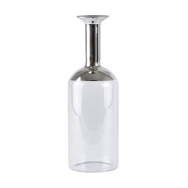 Váza Dona Silver, 26 cm