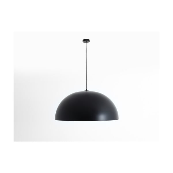 Lustră cu detalii arămii Custom Form Lord, ø 90 cm, negru