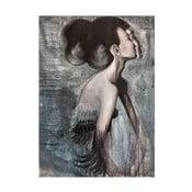 Autorský plakát od Lény Brauner Slečna Rakatamizau, 45x60cm