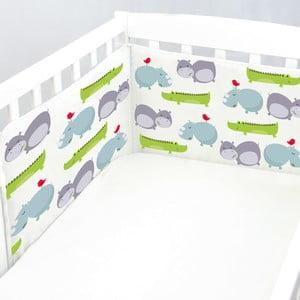 Výstelka do postýlky Hippo, 70x70x70 cm