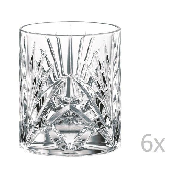 Sada 6 sklenic na whisky z křišťálového skla Nachtmann Palais Whisky Tumbler, 240 ml