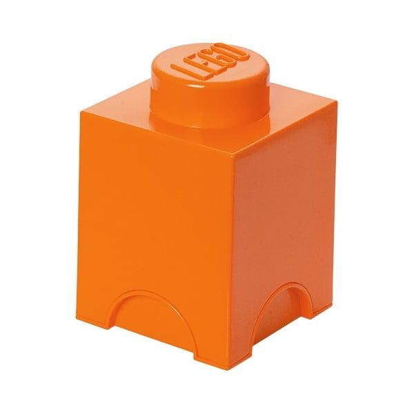 Úložný boxík Lego Movie, oranžový