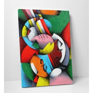Obraz na plátně Svět barev, 50x70 cm