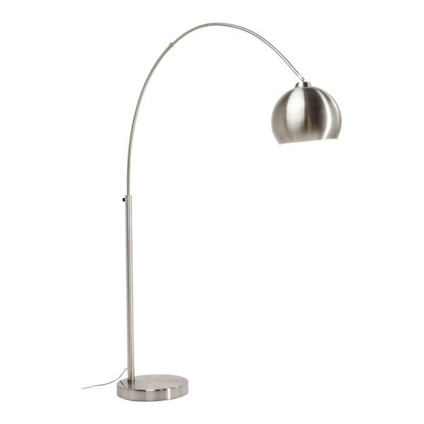 Stojacia lampa v striebornej farbe Kare Design Satin