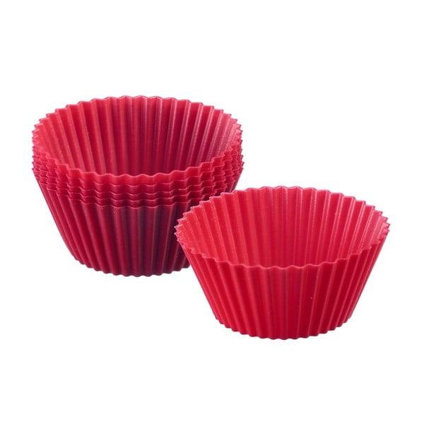 Sada 6 silikonových formiček na cupcaky Muffin