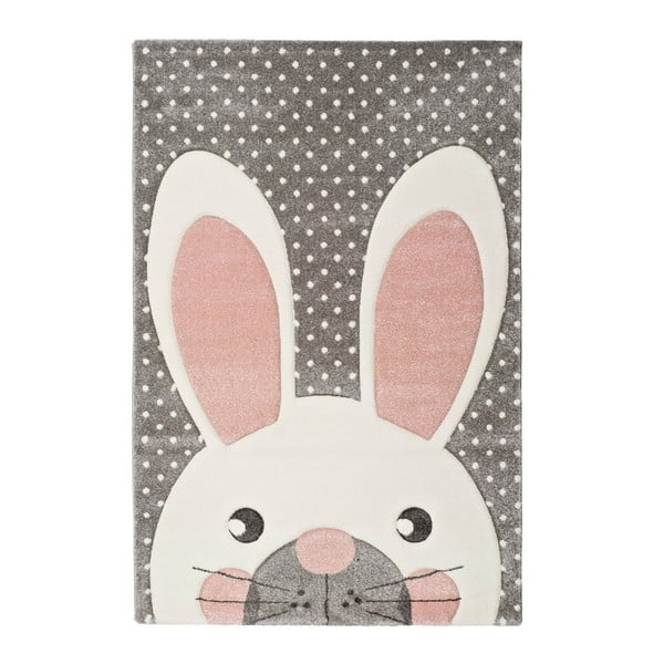 Covor pentru copii Universal Kinder Bunny, 120 x 170 cm