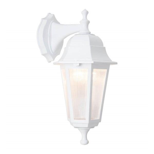 Bílé nástěnné venkovní svítidlo Charles
