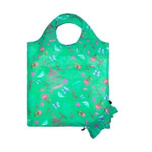 Zelelná skládací nákupní taška Ambiance Birdcage