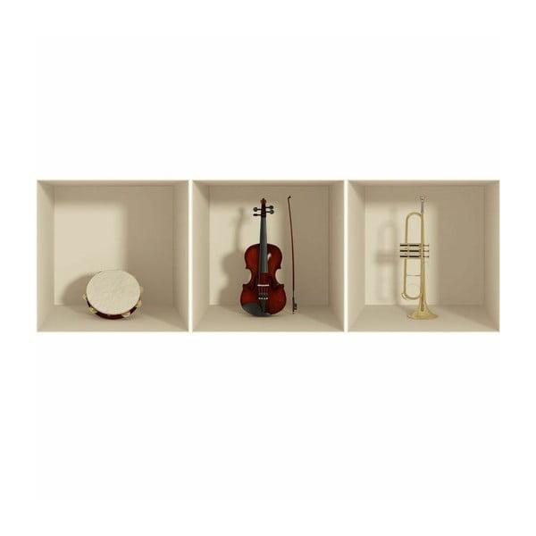 Samolepka Musical Instruments