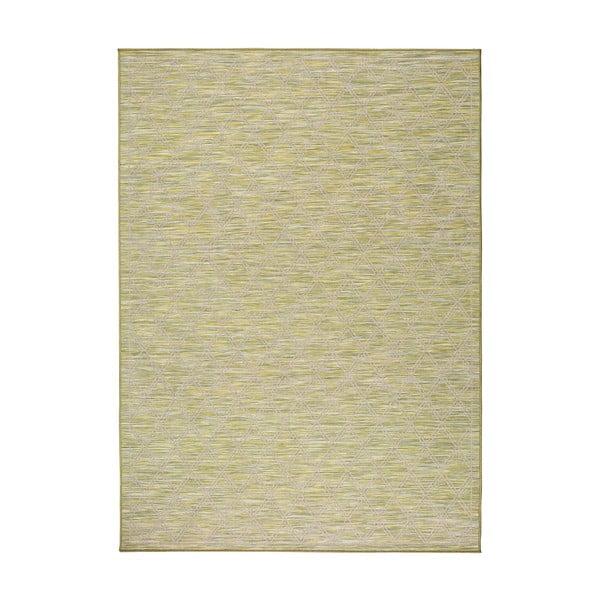 Kiara zöld beltéri/kültéri szőnyeg, 150 x 80 cm - Universal