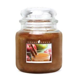 Vonná svíčka ve skleněné dóze Goose Creek Jablečný cider, 0,45 kg