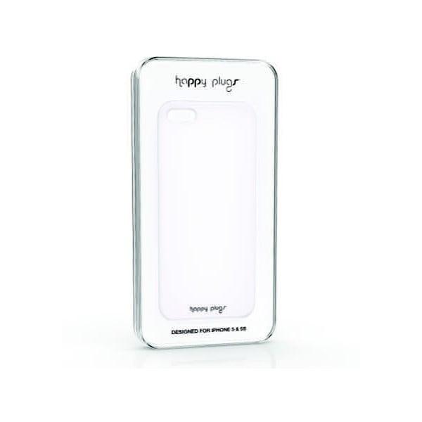 Kryt Happy Plugs na iPhone 5/5S, bílý