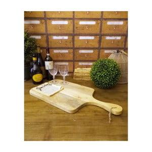 Dřevěné krájecí prkénko Orchidea Milano Wood Board, délka 60 cm
