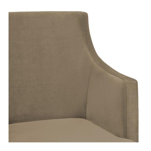 Sada 2 šedohnědých židlí Vivonita Reese