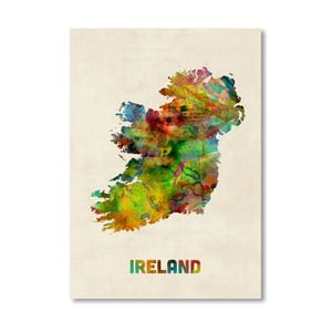Poster Irlanda Americanflat Art, 60x42cm, multicolor