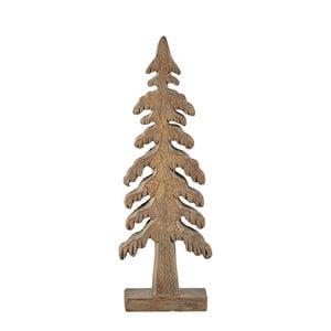 Hnědá dekorativní soška KJ Collection Tree Turo, výška 19 cm