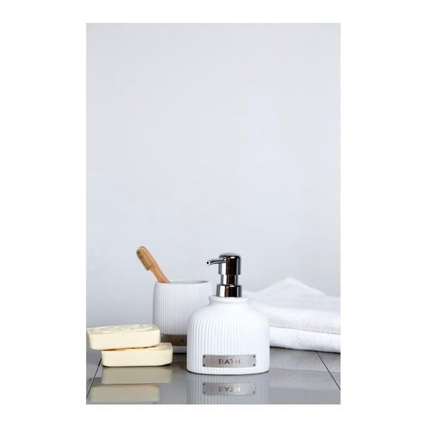 Polaris fehér kerámia szappanadagoló, 220 ml - Wenko