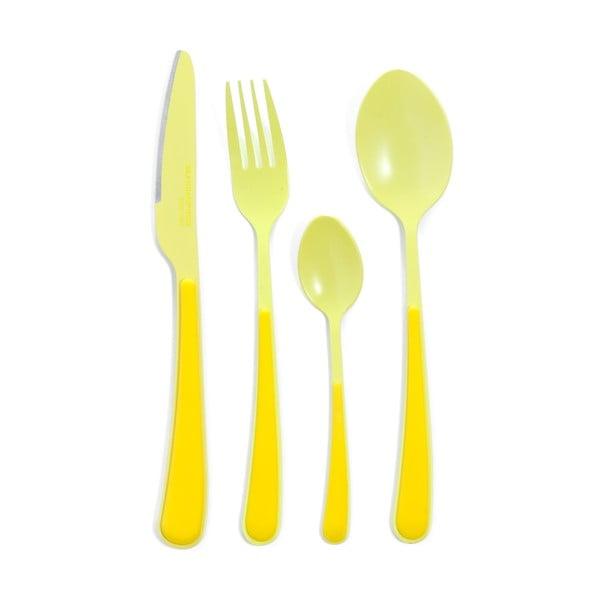 Příbory Confection, žluté