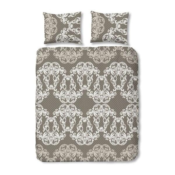 Povlečení Muller Textiel Descanso Istres Taupe, 200x200cm