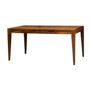 Masă din lemn de palisandru Massive Home Rosie, 175 x 90 cm