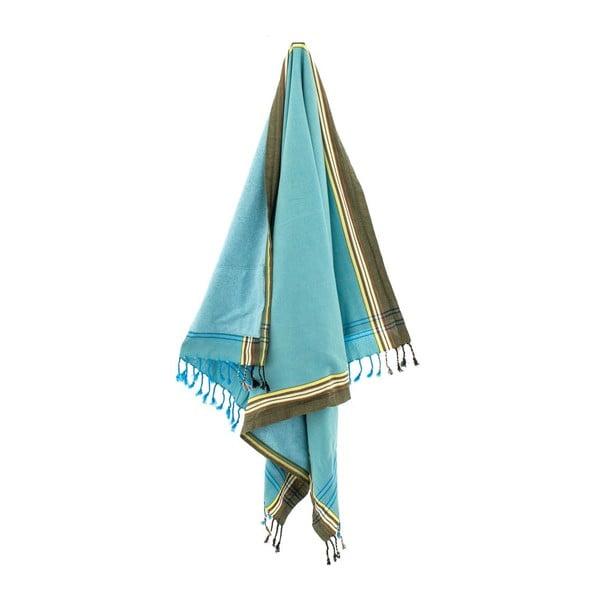 Ručník Mirza Blue, 100x178 cm
