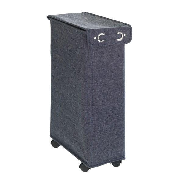 Tmavě modrý koš na prádlo Wenko Corno, 44,4 l