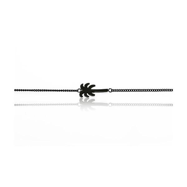 Brățară de damă din oțel inoxidabil Emily Westwood Palm, negru
