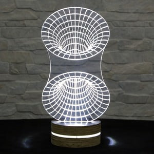 3D stolní lampa Tunnel