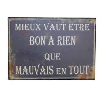 Tăbliță Antic Line Bon A Rien