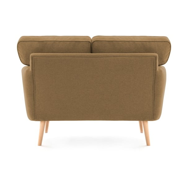 Canapea cu 2 locuri Vivonia Malva, maro