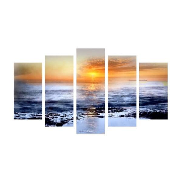 5dílný obraz Distance, 60x100 cm
