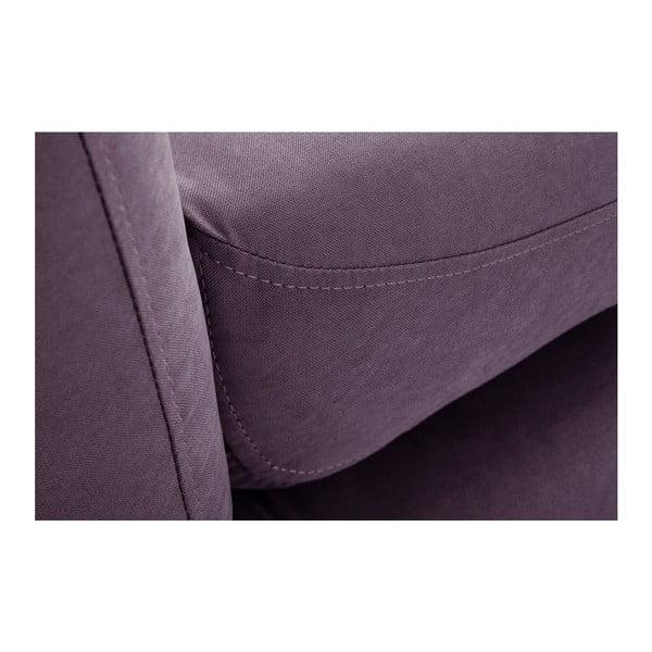 Canapea cu șezlong pe partea stângă Stella Grand, mov