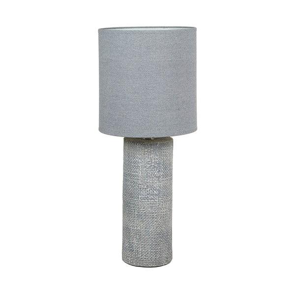 Šedá keramická stolní lampa Santiago Pons Coastal, výška70cm